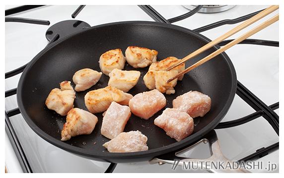 鶏肉のマーマレード煮 ポイント写真2