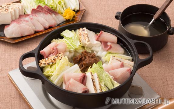 ぶりの酒粕鍋