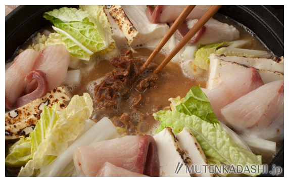 ぶりの酒粕鍋 ポイント写真2