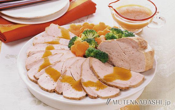 オレンジ煮豚