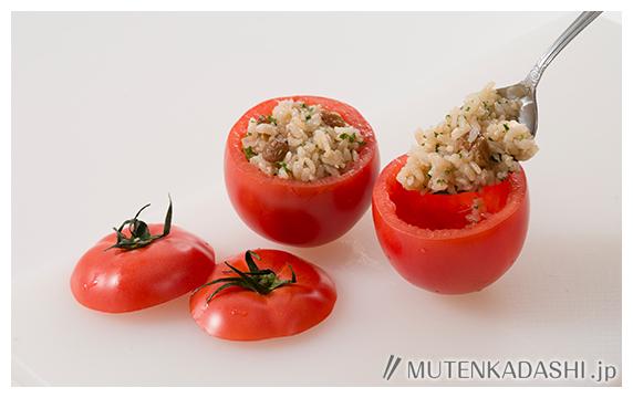 トマトの丸ごとライスグラタン ポイント写真2