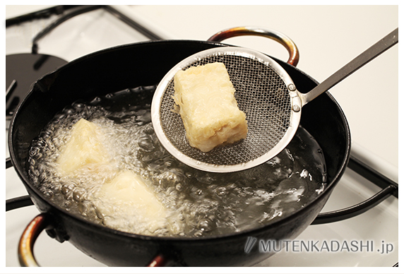 揚げ出し豆腐のあおさあん ポイント写真1