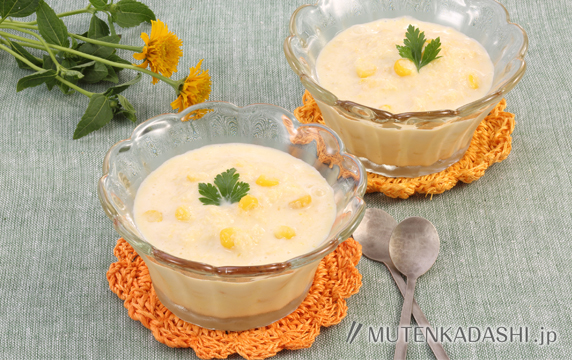 シャリシャリコーンスープ