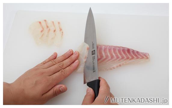 鯛豆腐 ポイント写真2