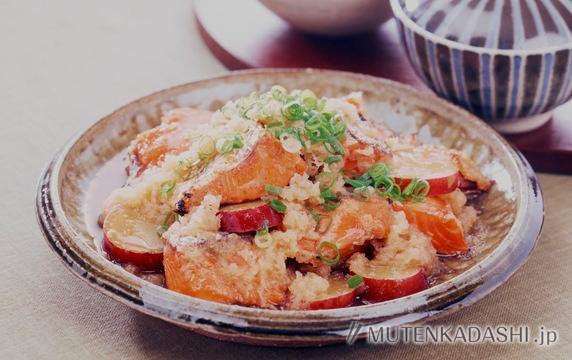焼き鮭のおろし煮