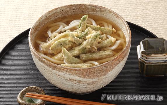 山菜の天ぷらうどん