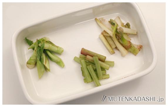 山菜の天ぷらうどん ポイント写真1