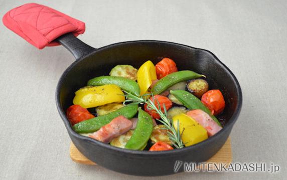 彩り野菜のだしグリル