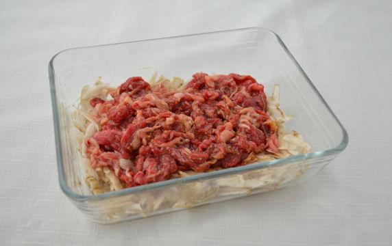 [レンジで常備菜]牛ごぼうのしぐれ煮 ポイント写真2