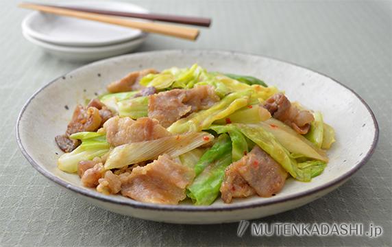 春キャベツの回鍋肉(ホイコーロー)