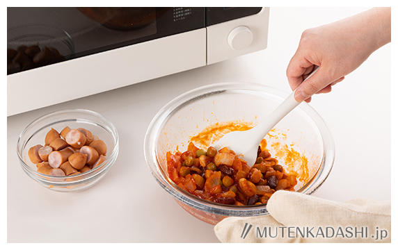 [作りおき常備菜]ソーセージのトマト煮 ポイント写真1