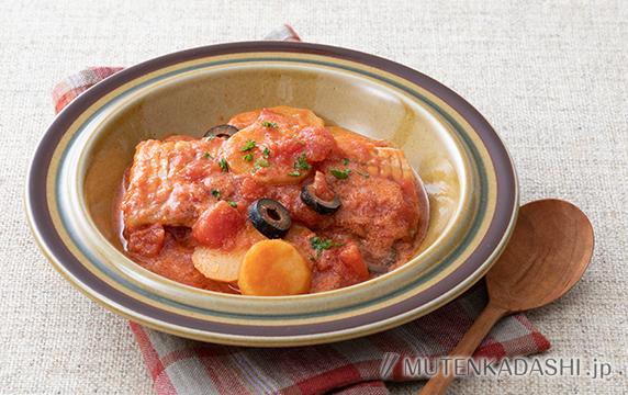 太刀魚のトマトクリーム煮